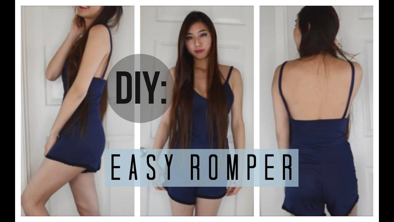 e308ff778 ✂ DIY Easy Peasy Romper - YouTube