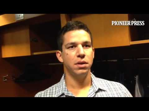 """Video: Tommy Milone says he was """"a little amped up at the beginning"""" of his first start for #MNTwins"""