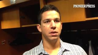 "Video: Tommy Milone says he was ""a little amped up at the beginning"" of his first start for #MNTwins"