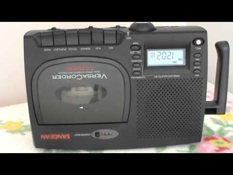 Bedtimes Stories for Kids Part - I Played in SANGEAN VersaCorder Audio Cassette Player
