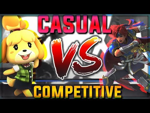 CASUAL Vs COMPETITIVE in Super Smash Bros Ultimate