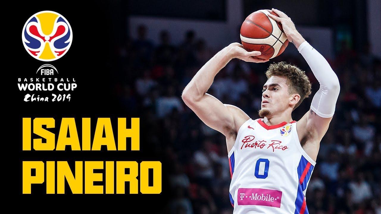 Isaiah Pineiro - ALL his BUCKETS & HIGHLIGHTS from the FIBA Basketball World Cup 2019