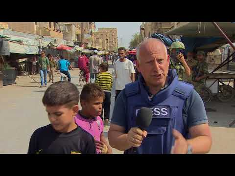 The BBC is first UK journalists taken into eastern Syria by Russian Army
