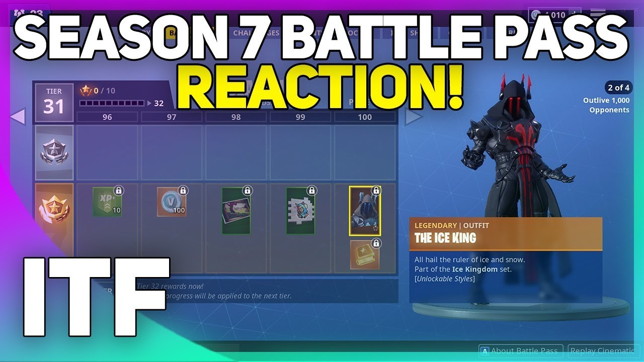 Season 7 Battle Pass Review Fortnite Battle Royale Youtube