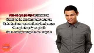 Pwede Bang Ako Na Lang Ulit by Bugoy Drilon (lyrics onscreen)