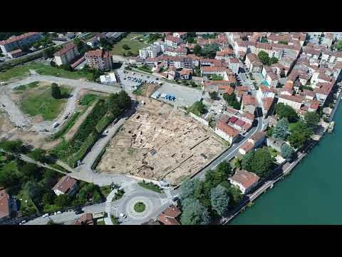 ACTUA DRONE et Fouilles Archéologiques Ste Colombe - Pompéi viennoise