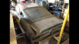 Barn Find 1968 Mustang X code Fastback