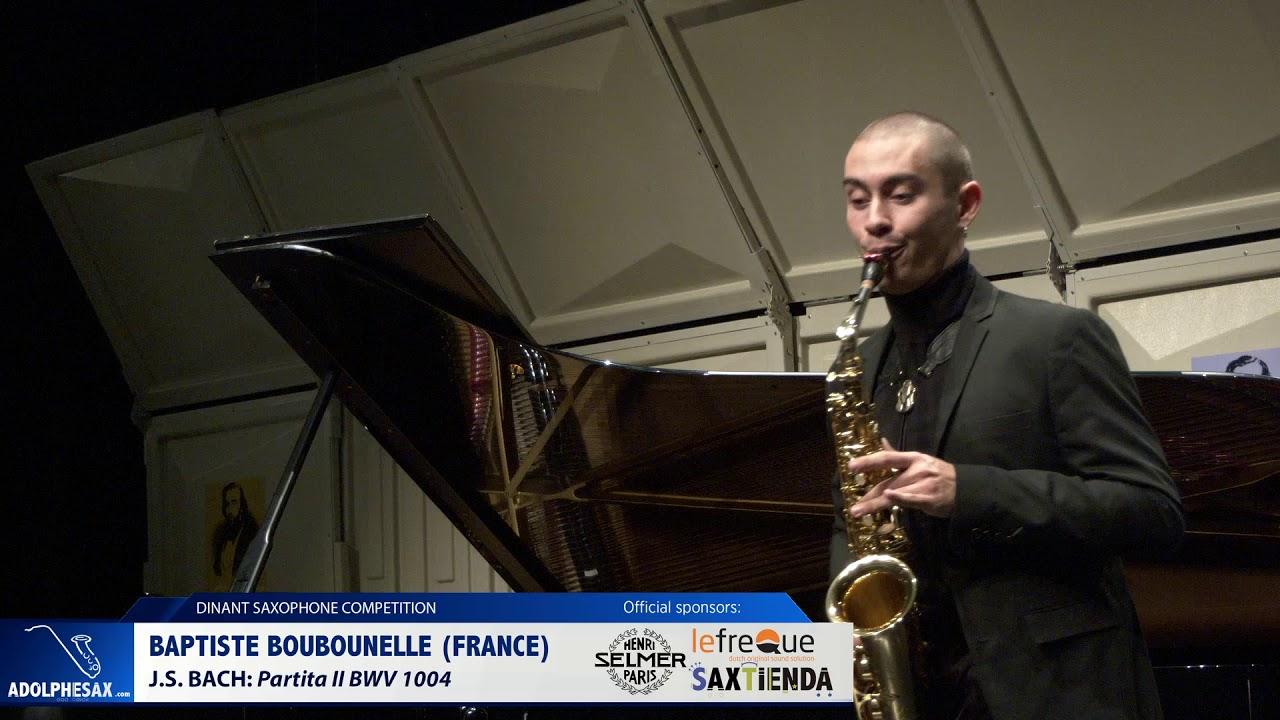 Baptiste Boubounelle France   Partita II BWV 1004 by J S Bach