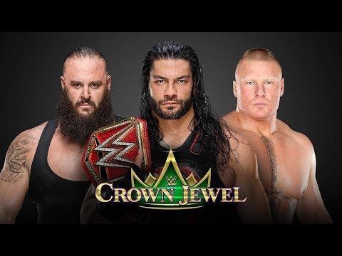 OFICIAL Roman Reigns vs Brock Lesnar vs Braun Strowman en ARABIA SAUDITA
