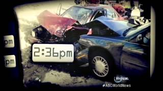 Texting Teen Driver Convicted of Homicide: Car Accidents Caught on Tape
