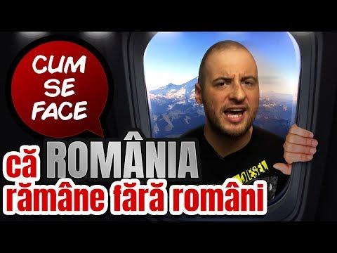 CUM SE FACE CĂ ROMÂNIA RĂMÂNE FĂRĂ ROMÂNI