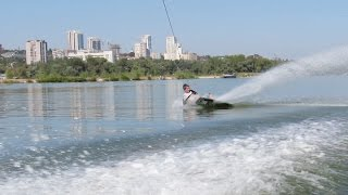 1 minute of wakeboarding crashes