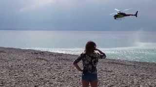Съемки промо-ролика Ф-1 в Имеритинке 31 августа 2014 г
