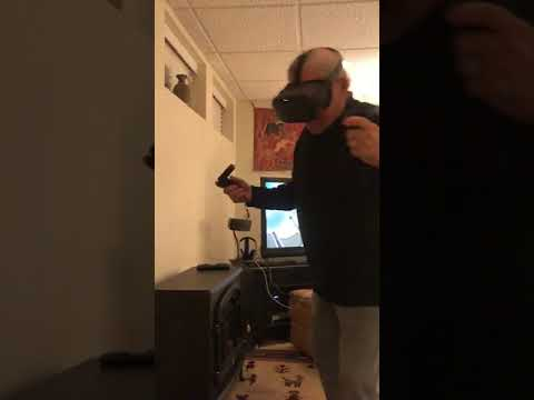 The Randy, Jamie and Jojo Show  - Elderly Man Tries Virtual Reality For The First Time
