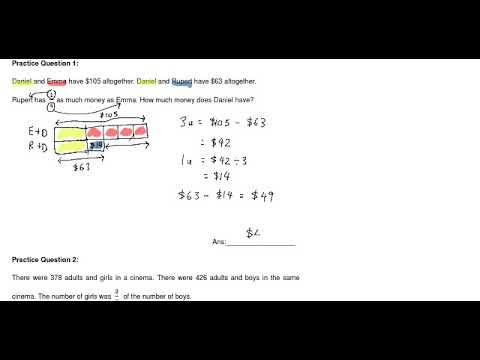 P5 Mathematics - Fractions (Common Identity)