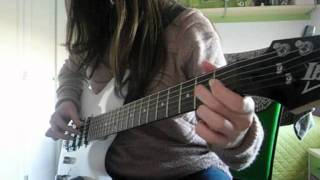 Greensleeves, Mozart - Electric guitar cover