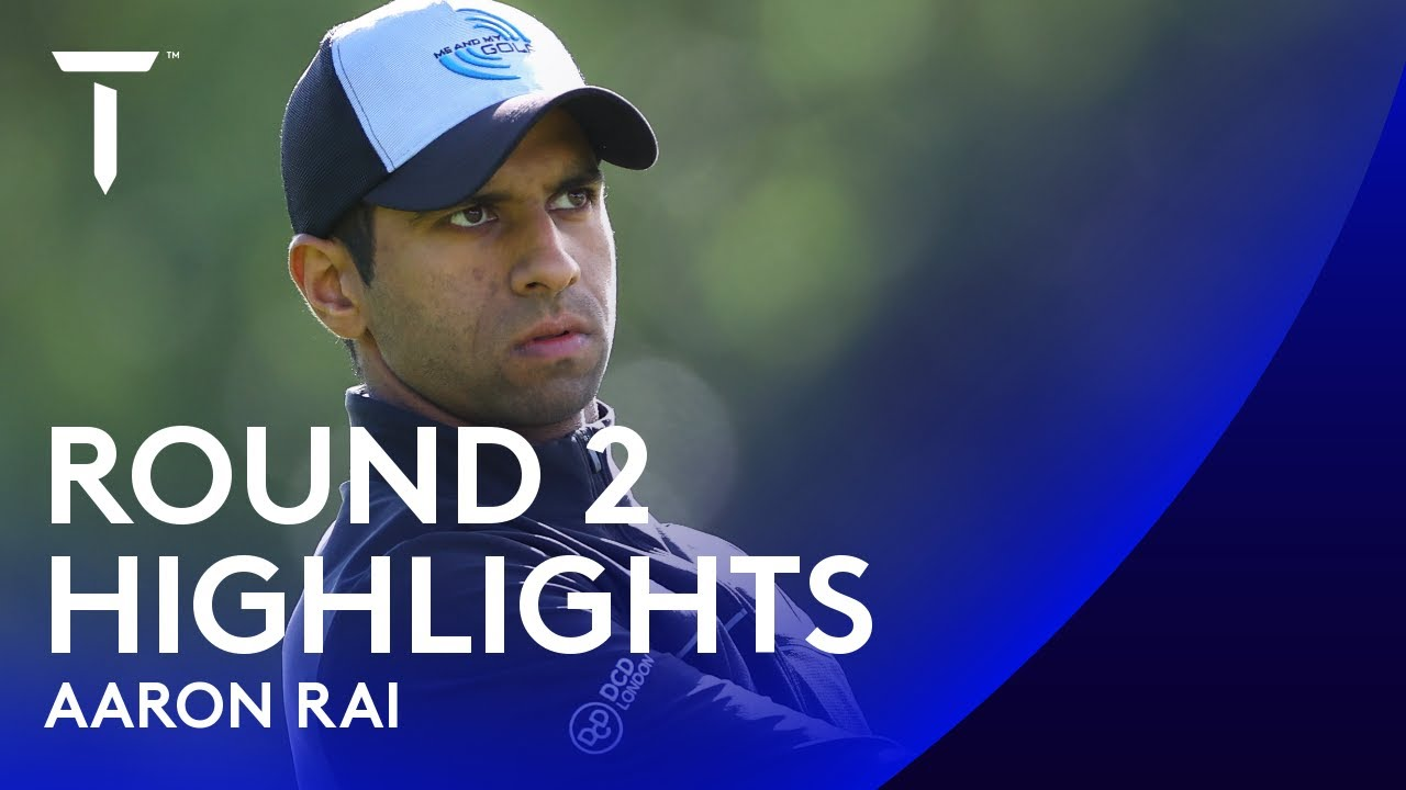 Aaron Rai takes a one-shot lead | 2020 Dubai Duty Free Irish Open