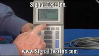 TDR Time Domain Reflectometer Part 3 - TDR Setup for Twisted Pair Cable with Events