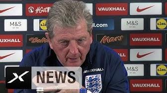 """Roy Hodgson: """"Wir wollen zu 100% vorbereitet sein""""   England-Kader für EM bekanntgegeben"""
