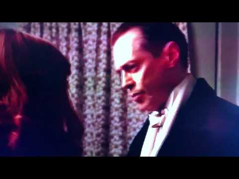 Nucky Thompson kisses ms. Schroeder - Boardwalk Empire