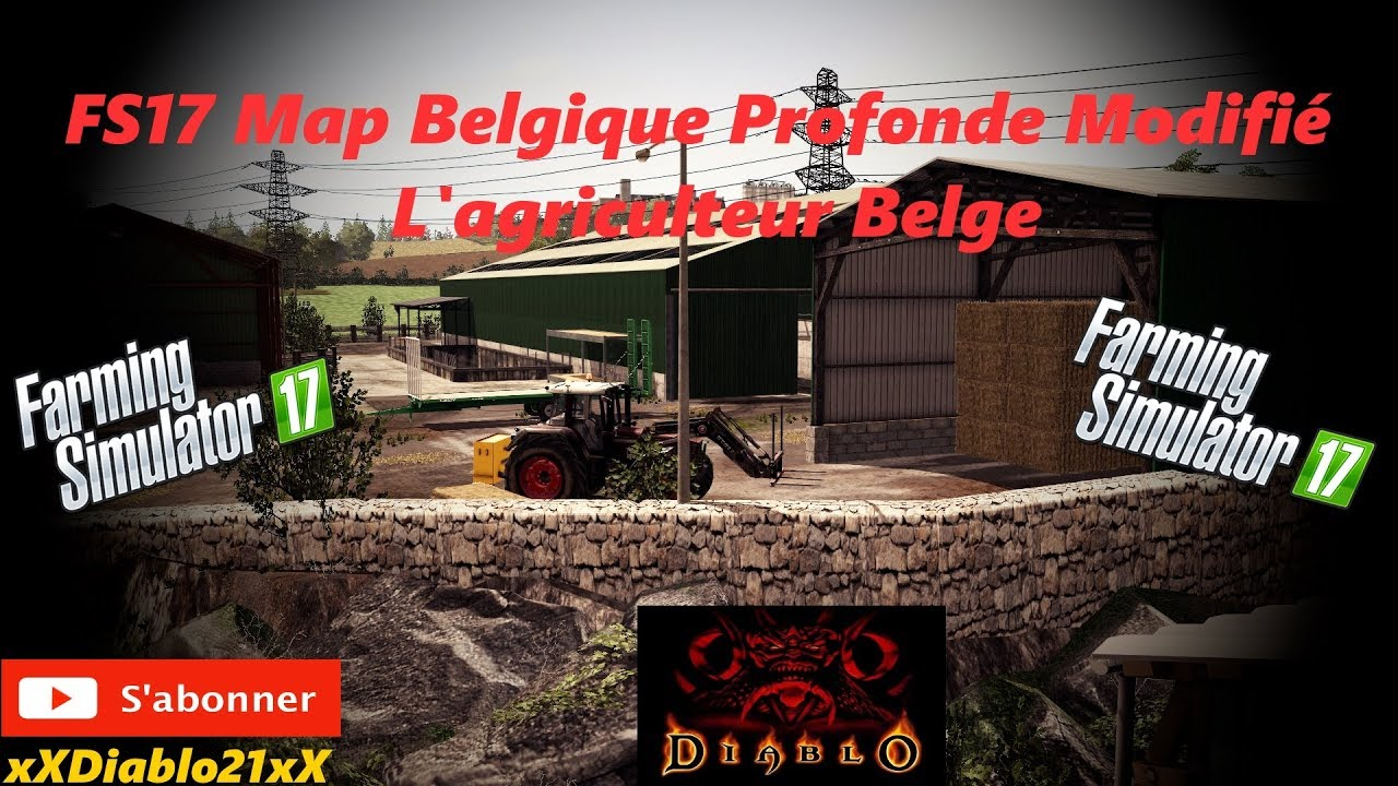 fs17 carri re solo ep4 un agriculteur b lge 4 map belgique profonde modifi youtube. Black Bedroom Furniture Sets. Home Design Ideas