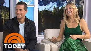Kate Hudson Gets Primal With Bear Grylls On 'Running Wild' | TODAY