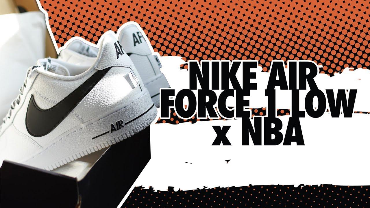 0c2850d5a8e6 LPU - Nike Air Force 1 x NBA! - YouTube