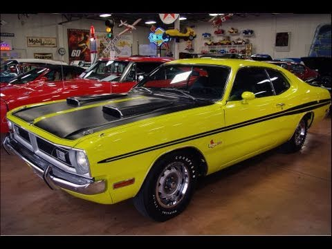 1971 Dodge Dart Demon 340 Citron Yella Mopar Muscle Car