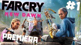 Far Cry New Dawn PL #1 - PREMIERA - Zobaczcie Wizje Post-Apo w Wersji Ubisoft gameplay PC po Polsku