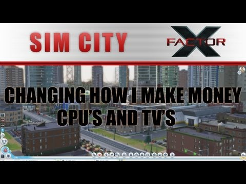 SimCity - Changing how I make money: The CPU and Computer game |