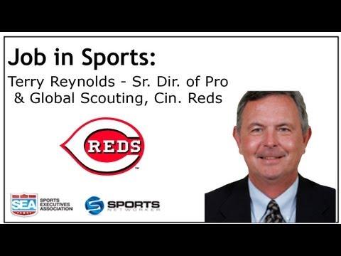 Job In Sports: Sr. Dir. Of Pro & Global Scouting - Cincinnati Reds - Terry Reynolds