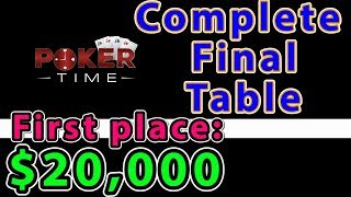 BONUS Poker Time: Complete Final Table