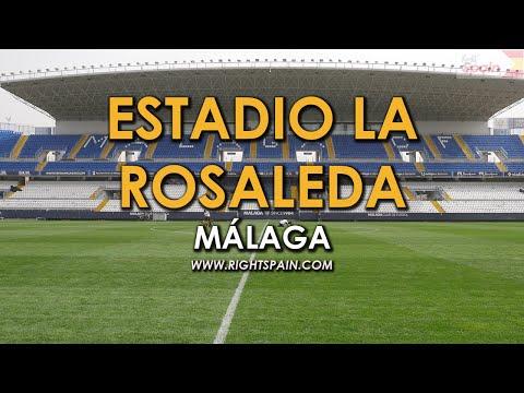 Estadio La Rosaleda, Málaga Spain 2016.