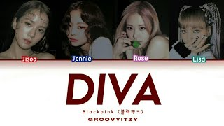 Download How Blackpink would sing (G)-IDLE x ITZY 'DIVA' + lyrics