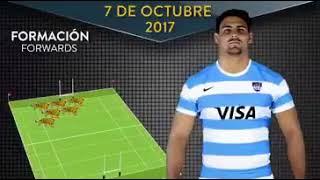Formación de Los Pumas vs. Australia en Mendoza #RCH2017