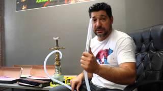 Hookah D Hose, at hookahjohn, glass hookah handle