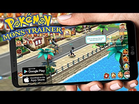Pokemon Mons Trainer Game [Android/IOS] | New High Graphics
