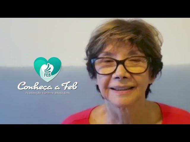 Atriz Ana Rosa fala sobre a Missão da FEB