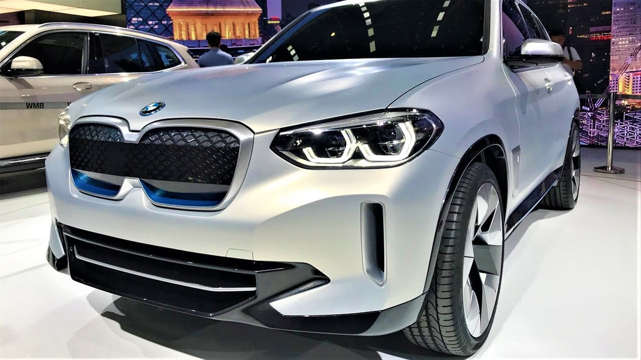 New BMW iX3 - Impressive Electric SUV - YouTube