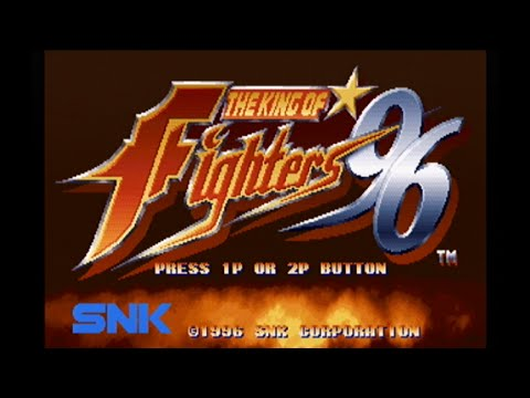 THE KING OF FIGHTERS '96(セガサターン版) オープニングデモ [GV-VCBOX,GV-SDREC]