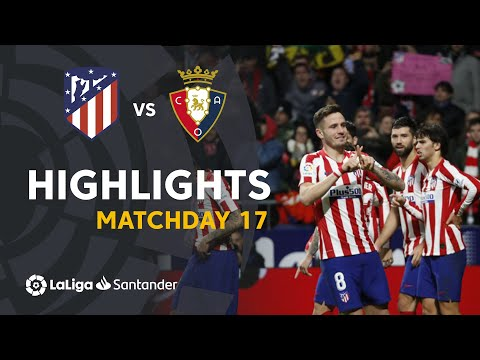 Highlights Atletico Madrid Vs CA Osasuna (2-0)