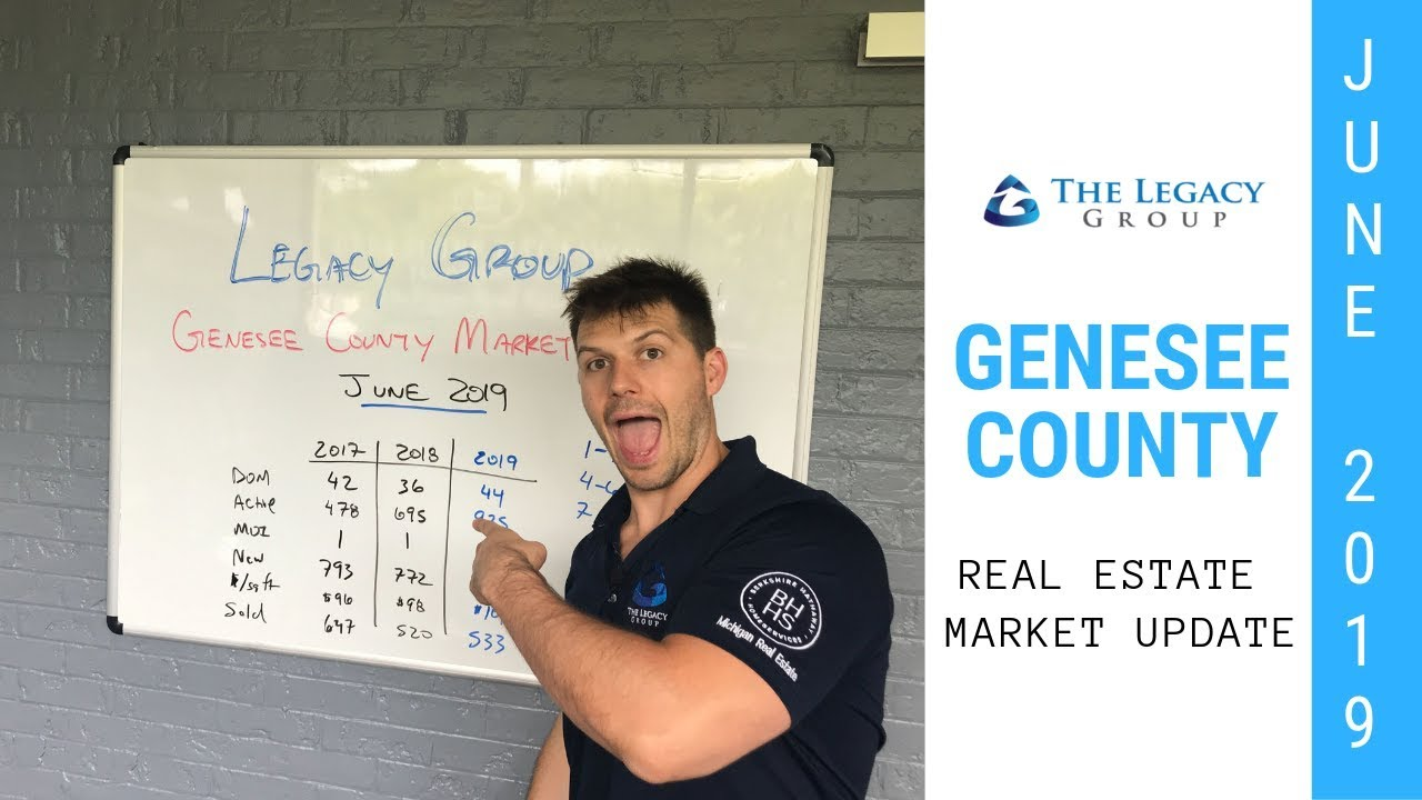 June 2019 Real Estate Market Update – Genesee County - The Legacy Group