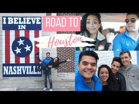 ROADTRIP VLOG: Road to Houston, Touring Nashville & Staying On Track!