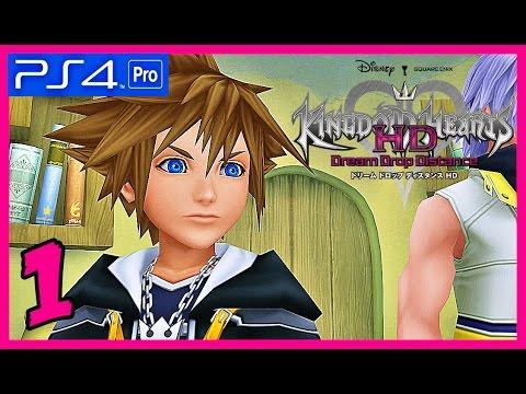 Kingdom Hearts HD Dream Drop Distance Español PS4 Pro » Parte 1 / EXAMEN DE MAESTRO «