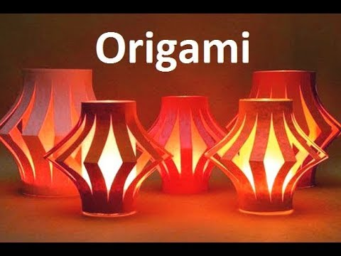 Origami Lantern Ball: DIY 3D Origami Lantern Ball |Nice Fancy Paper Lantern Ball For Home Decor