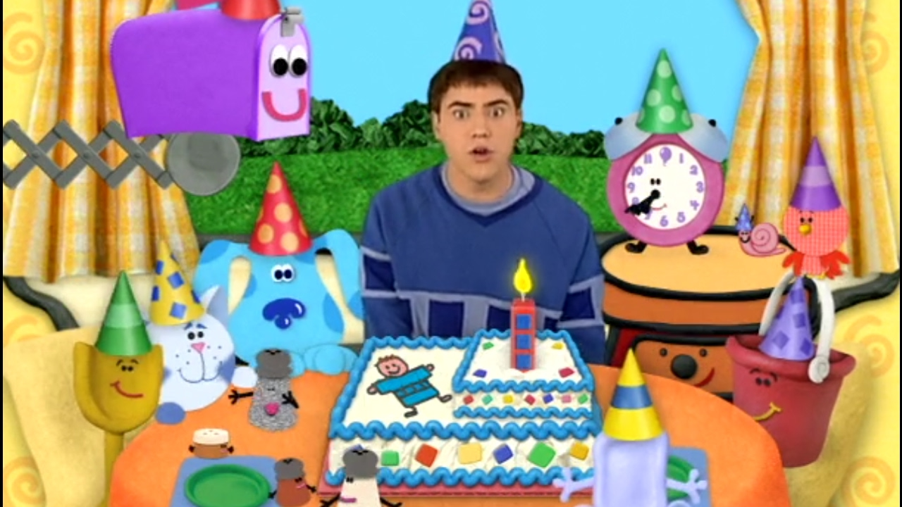 blue u0027s clues joe u0027s surprise party youtube
