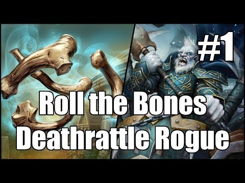 [Hearthstone] Roll the Bones Deathrattle Rogue (Part 1)