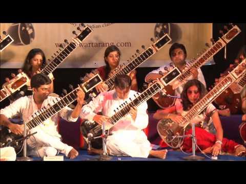 Swartarang Music Academy 2014 Sitar Ensemble part 1 of 4