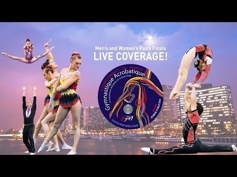 2014 World Acrobatic Gymnastics Championships Finals - Day 1