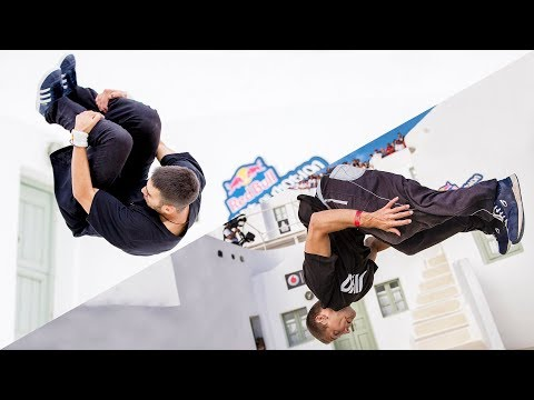 2 freerunners, 5 challenges, 1 bucket of water. | Game of Freerunning